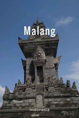 Malang Indonesia