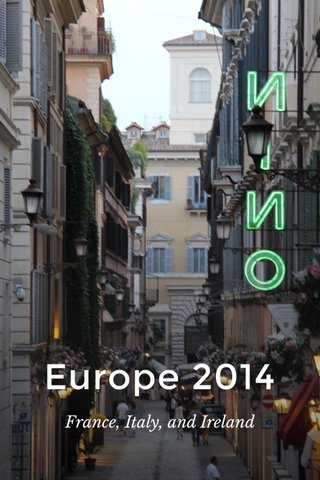 Europe 2014 France, Italy, and Ireland