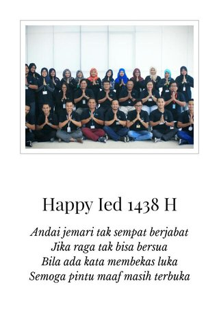 Happy Ied 1438 H