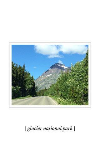 | glacier national park |