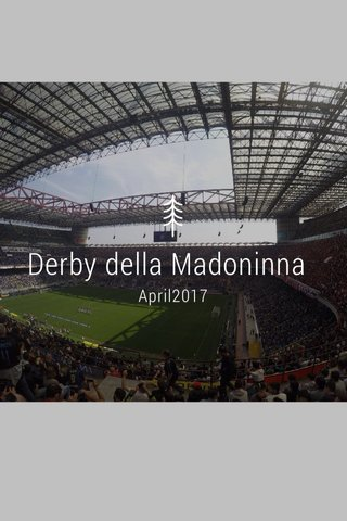 Derby della Madoninna April2017