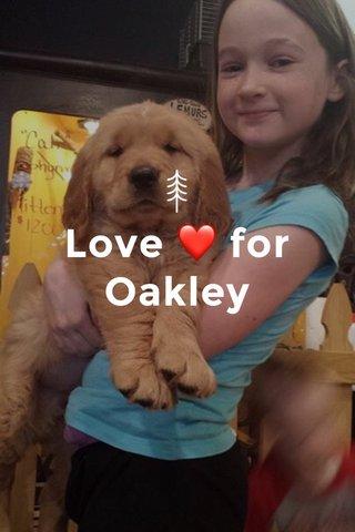 Love ❤️ for Oakley