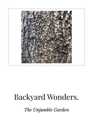 Backyard Wonders.