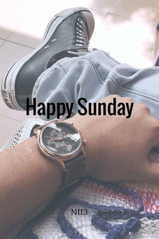 Happy Sunday NI13
