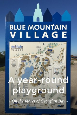 A year-round playground ~ On the shores of Georgian Bay ~