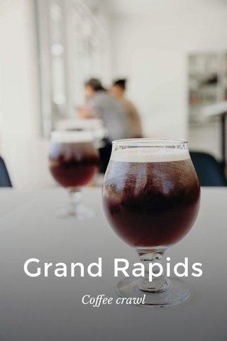 Grand Rapids Coffee crawl