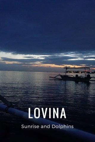 LOVINA Sunrise and Dolphins