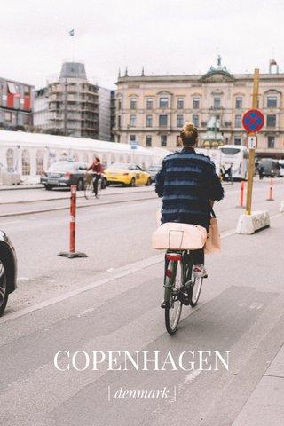 COPENHAGEN | denmark |