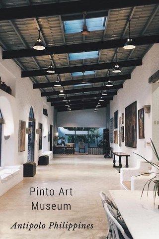 Pinto Art Museum Antipolo Philippines