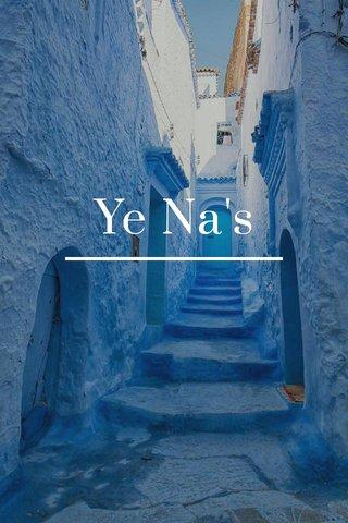Ye Na's