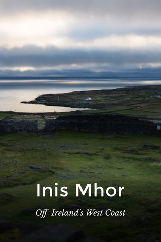 Inis Mhor Off Ireland's West Coast
