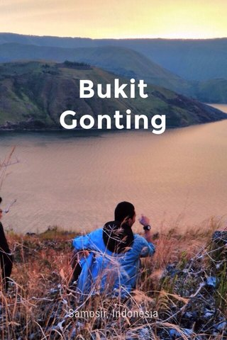 Bukit Gonting Samosir, Indonesia