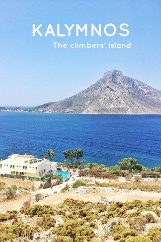 KALYMNOS The climbers' island
