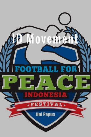 ID Movement