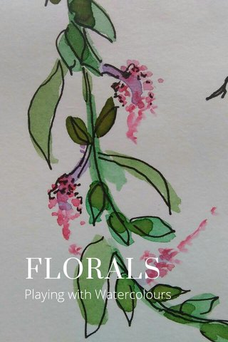 FLORALS Playing with Watercolours
