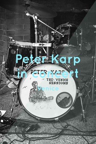 Peter Karp in concert Venice