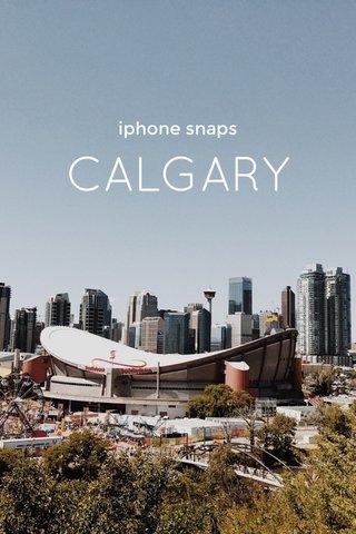CALGARY iphone snaps