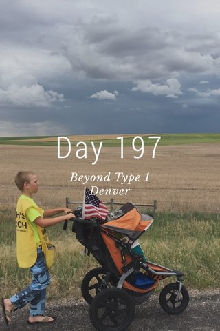 Day 197 Beyond Type 1 Denver