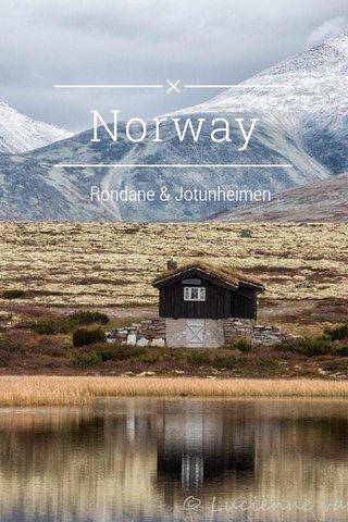 Norway Rondane & Jotunheimen