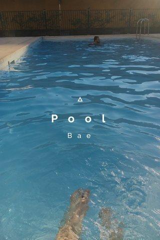 Pool Bae