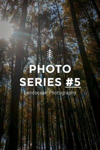 PHOTO SERIES #5 Landscape Photography