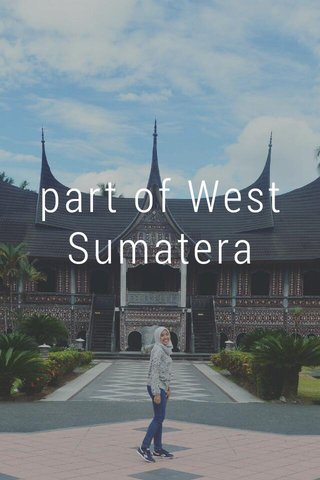 part of West Sumatera