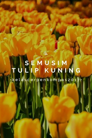 SEMUSIM TULIP KUNING •kelascerpenkompas2017•