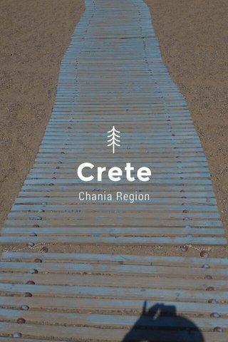 Crete Chania Region