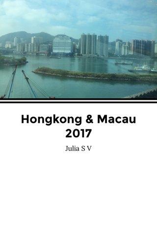 Hongkong & Macau 2017