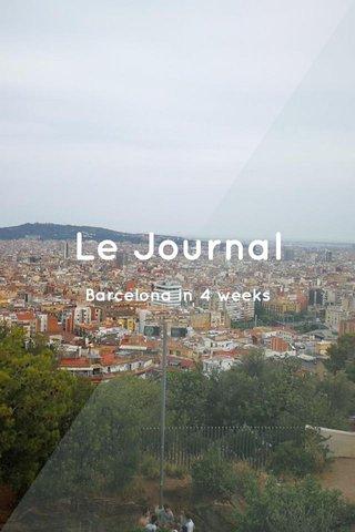 Le Journal Barcelona in 4 weeks