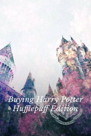 Buying Harry Potter Hufflepuff Edition