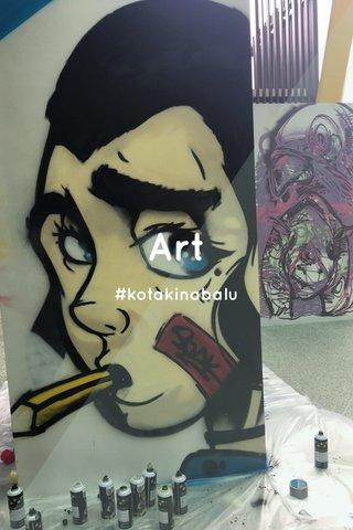 Art #kotakinabalu