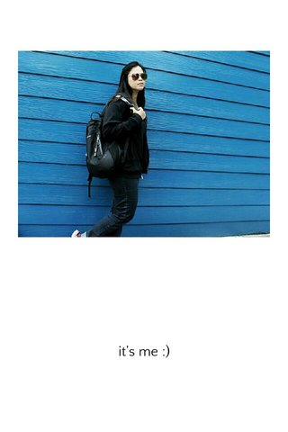 it's me :)