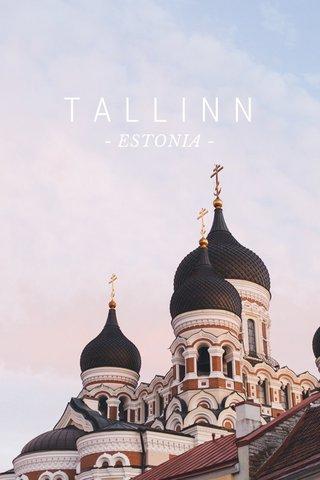 TALLINN - ESTONIA -