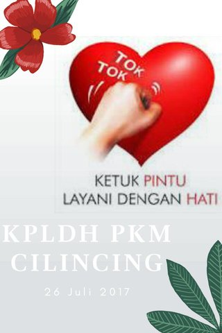 KPLDH PKM CILINCING 26 Juli 2017