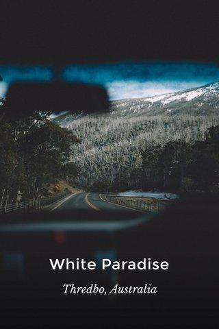 White Paradise Thredbo, Australia