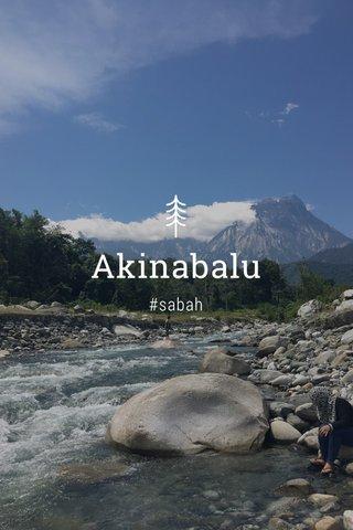Akinabalu #sabah