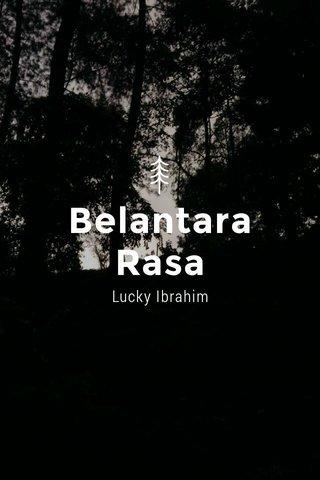 Belantara Rasa Lucky Ibrahim