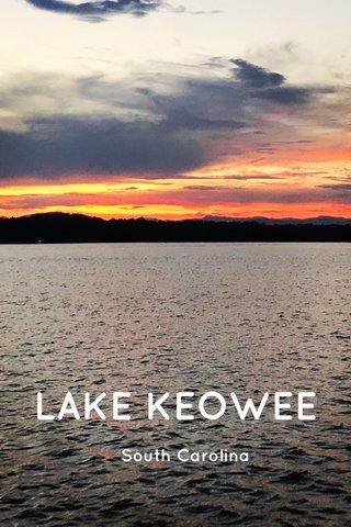 LAKE KEOWEE South Carolina