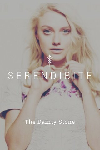 SERENDIBITE The Dainty Stone