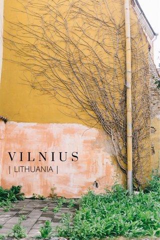 VILNIUS | LITHUANIA |