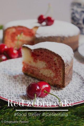Red zebra cake #food steller #stelleritalia