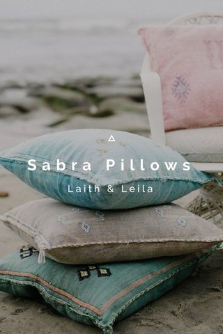 Sabra Pillows Laith & Leila