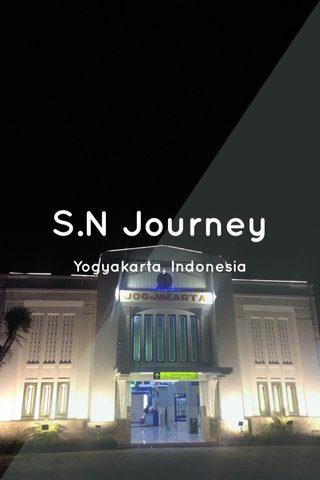 S.N Journey Yogyakarta, Indonesia