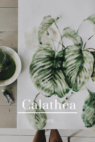 Calathea Paint