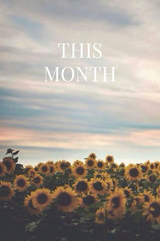 THIS MONTH