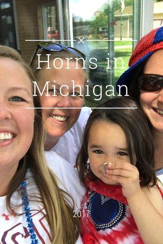 Horns in Michigan 2017