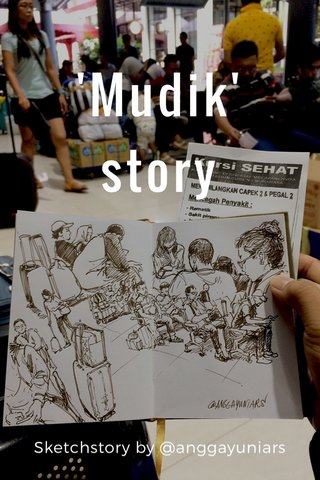 'Mudik' story Sketchstory by @anggayuniars