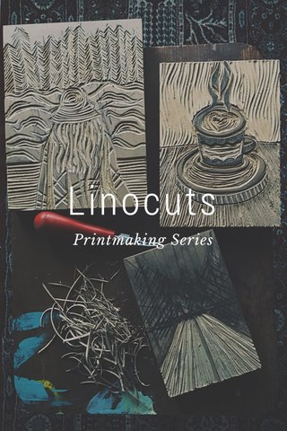 Linocuts Printmaking Series