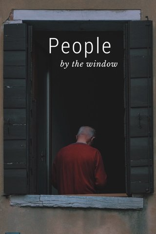 People by the window